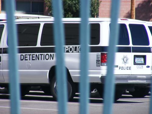 City of Las Vegas Detention and Enforcement Van