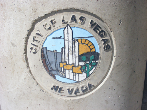 City of Las Vegas, Nevada Logo at the Jail