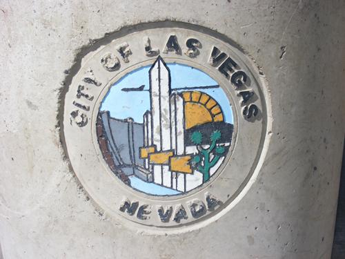 City of Las Vegas Logo at the Jail 3300 E. Stewart Las Vegas, NV