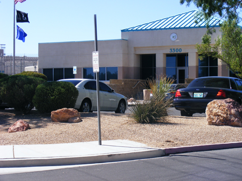 Front View of the City Las Vegas Jail 3300 E. Stewart Las Vegas, NV