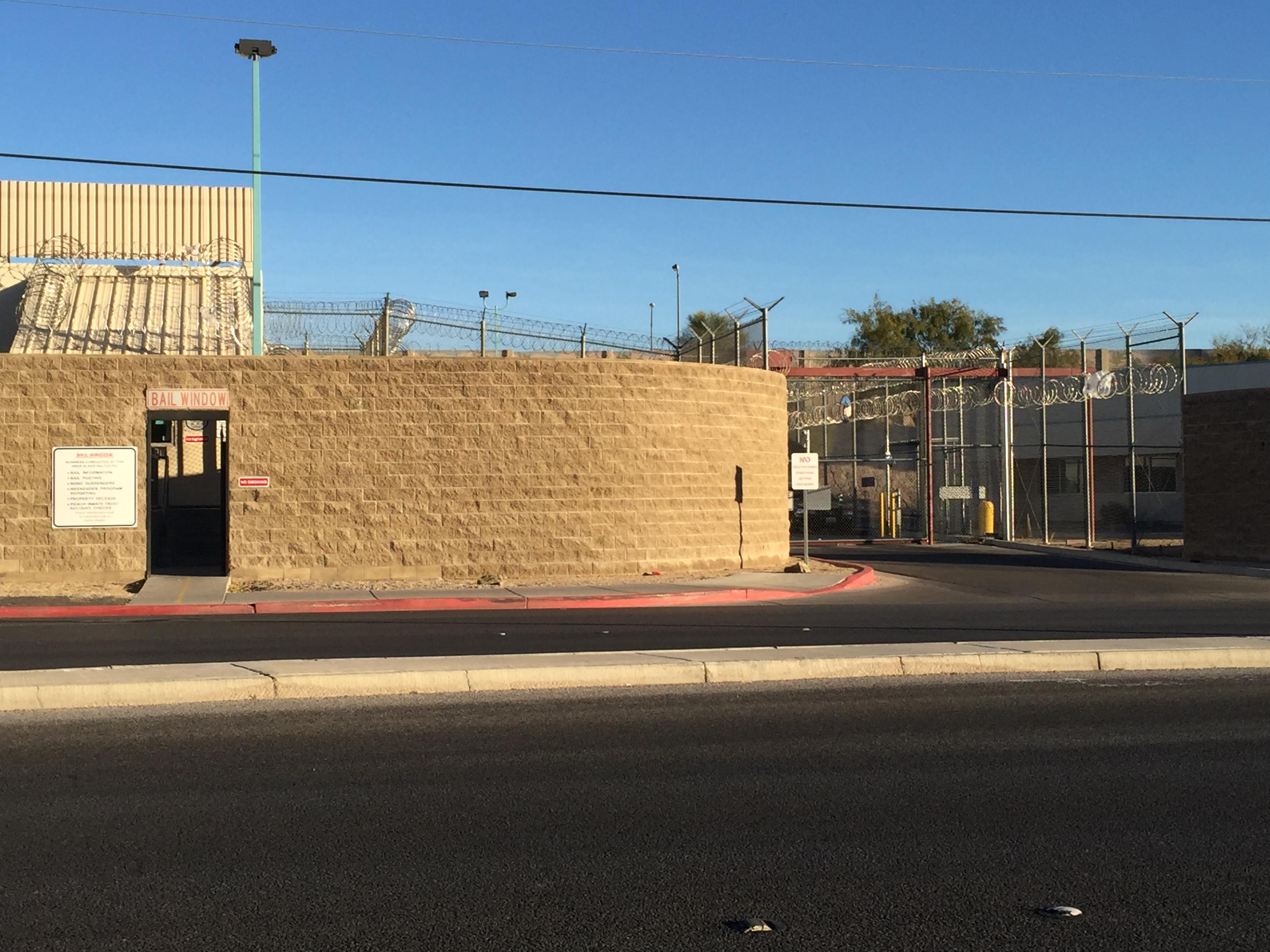City of Las Vegas Detention Center Nevada