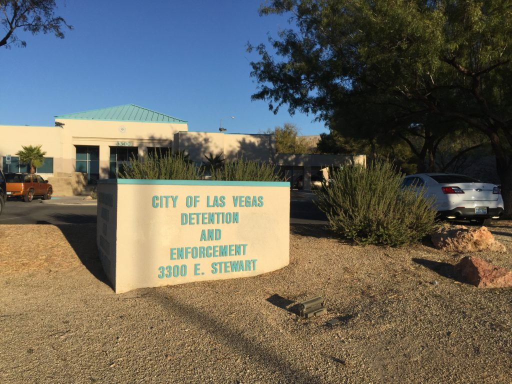 Address of the City of Las Vegas Jail